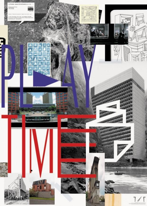 Play > Time, Carte blanche pour l'ouverture de la Galerie de la Ville de Nanterre «La Terrasse»